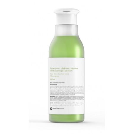 Szampon z olejkiem z drzewa herbacianego i aloesem 250 ml