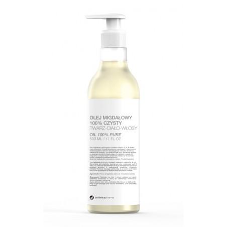 Olej Migdałowy 100% czysty 500 ml (pompka)