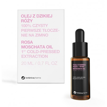 Olej z dzikiej róży 100% czysty 20 ml