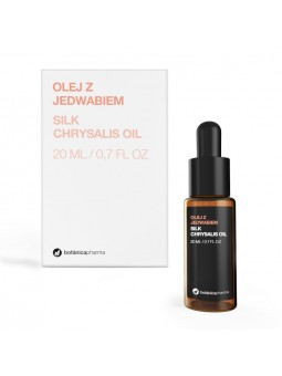Olej z wyciągiem z jedwabiu 100% czysty 20 ml (zakraplacz)