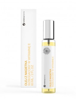 Olej z nagietka z witaminą E 100% czysty 60 ml (spray)
