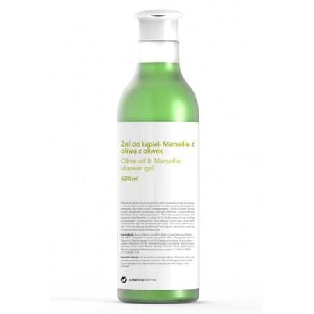 Żel do kąpieli z oliwą z oliwek o zapachu Marseille 500 ml